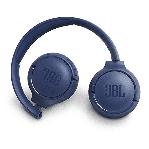 JBL T500BT wireless on-ear headphone with mic