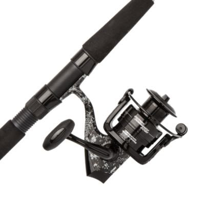Abu Garcia Rod Rell Combo Catfish Commando Spinning Reel