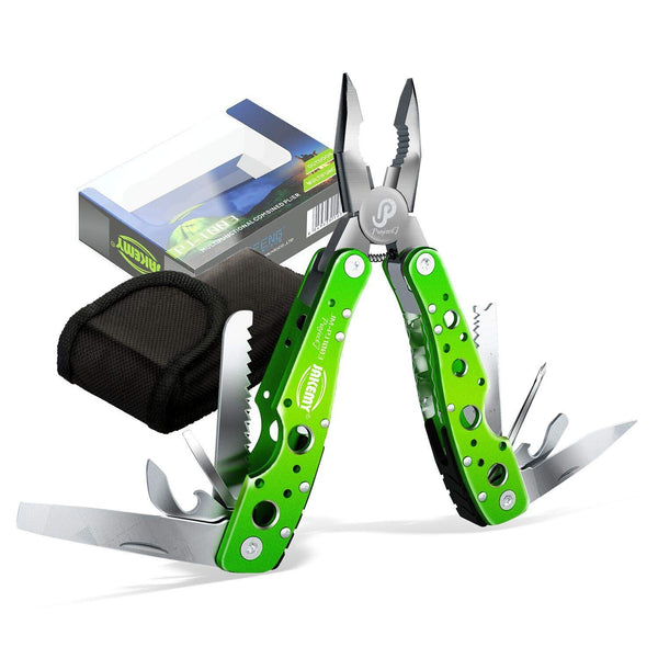 Portable Folding Pocket Knife Pliers Screwdriver Cutter Stainless Steel Survival Tool