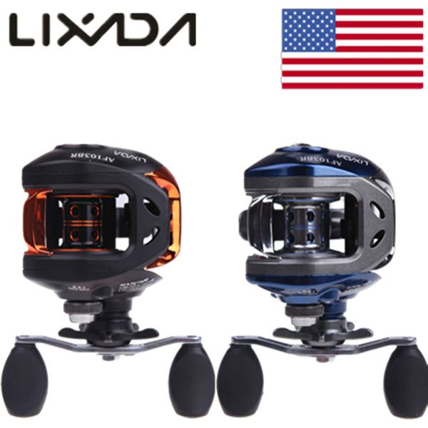 Lixada AF103 10+1BB 6.3:1 Baitcasting Fishing Reel Hi-Speed Saltwater Fish Wheel