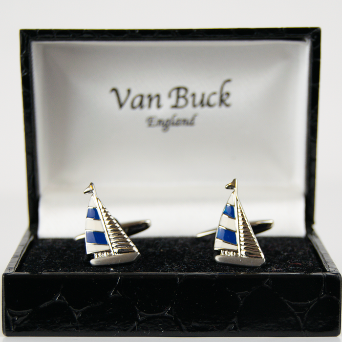 Van Buck Novelty Cuff Links - Sail Boats