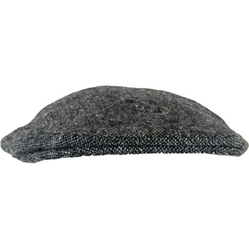 Olney Donegal Tweed Cap - Grey - Livingston - Castle Douglas