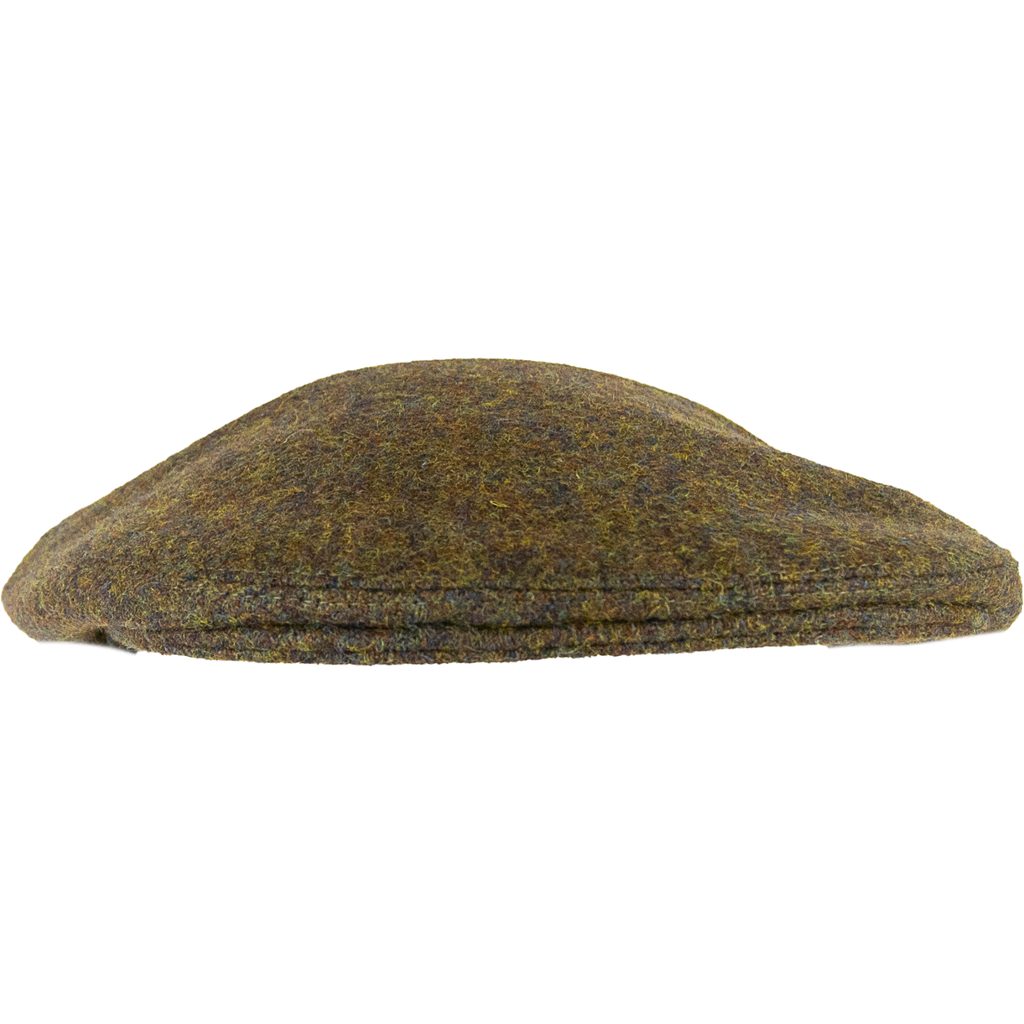 Olney Worcester Tweed Cap - Khaki - Livingston - Castle Douglas
