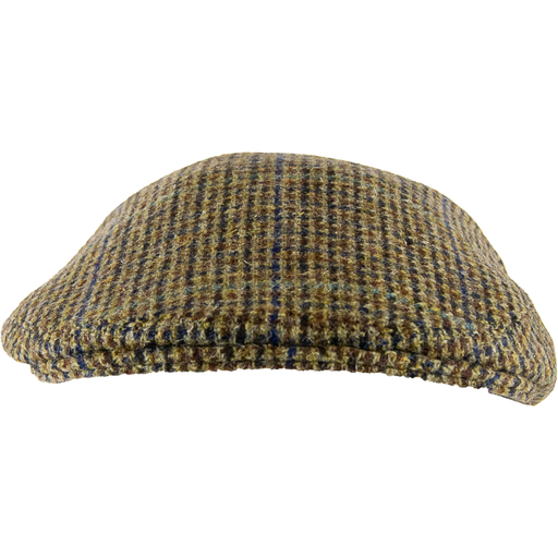 Olney Hereford Tweed Cap - Multi Check - Livingston - Castle Douglas