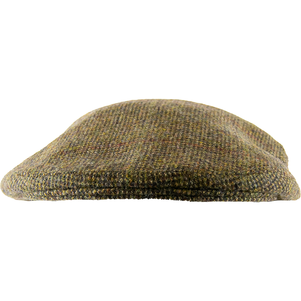 Olney Hereford Tweed Cap - Brown Cheviot - Livingston - Castle Douglas