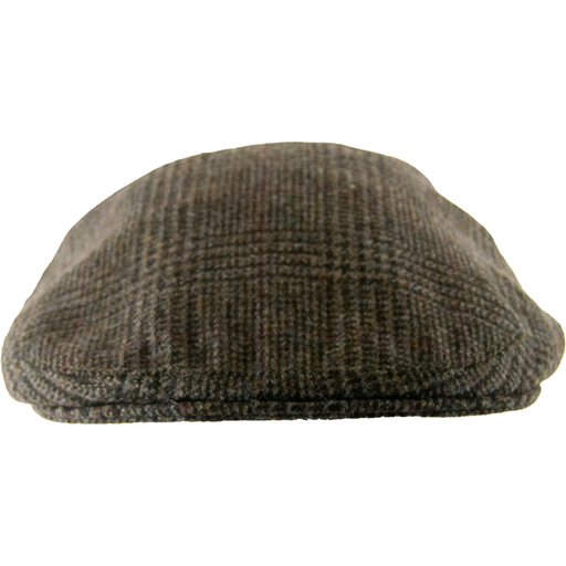 Olney Hereford Cap -  Dark Brown - Livingston - Castle Douglas
