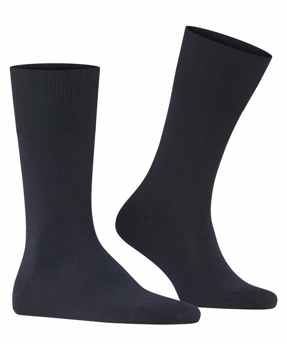 Falke Airport Wool Mix Socks - Navy