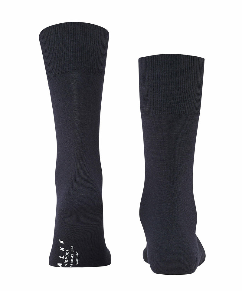 Falke Airport Wool Mix Socks - Navy - Livingston - Castle Douglas