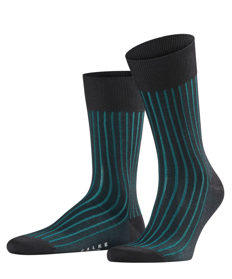 Falke Shadow Cotton Sock - Teale - Livingston - Castle Douglas