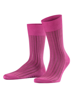 Falke Shadow Cotton Sock - Pink