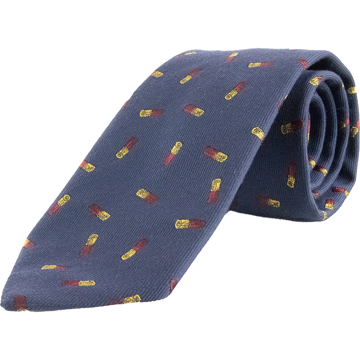 Wool and Silk Cartridge Tie - Livingston - Castle Douglas