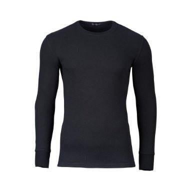 Jockey Modern Thermals Long Sleeve -  Black - Livingston - Castle Douglas