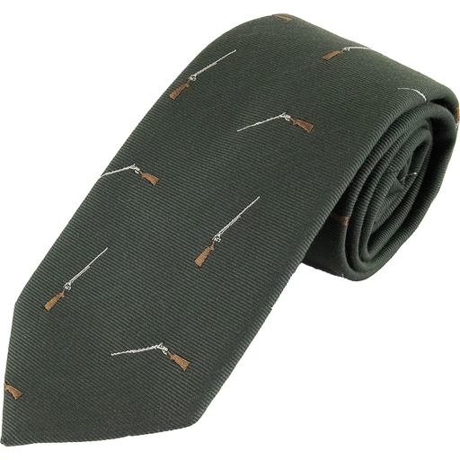 Wool and Silk Shotgun Tie - Livingston - Castle Douglas