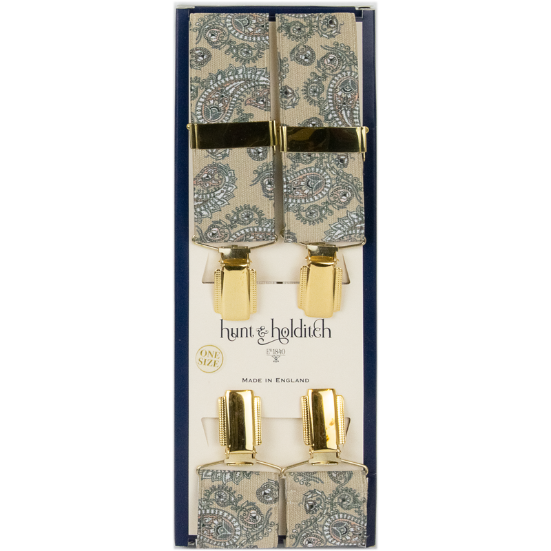Hunt & Holditch Fancy Clip Braces - Paisley - Livingston - Castle Douglas