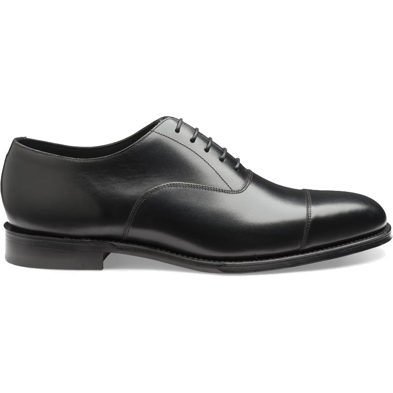 Aldwych Rubber Sole Shoe - Black