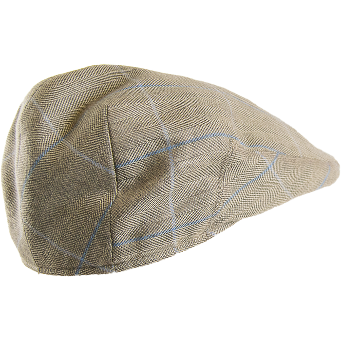 Bladen Lightweight Cap - Khaki / Blue Window - Livingston - Castle Douglas