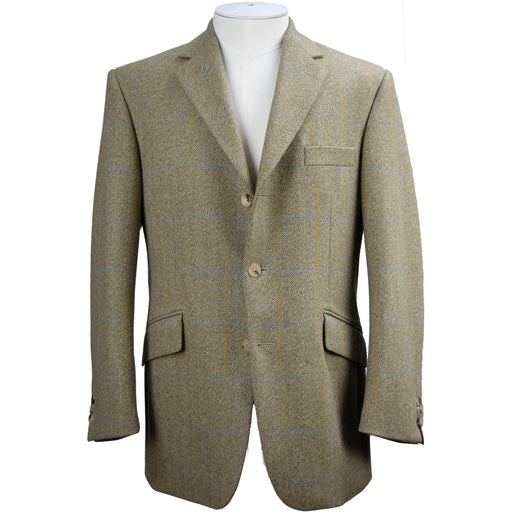 Bladen Tweed Jacket - Sage / Oatmeal - Livingston - Castle Douglas