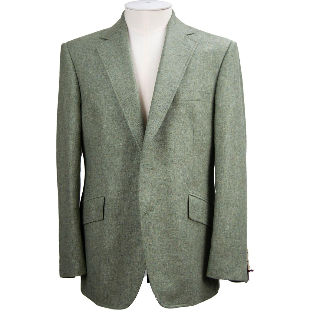 Bladen Pure Silk Jacket - Sage Green - Livingston - Castle Douglas