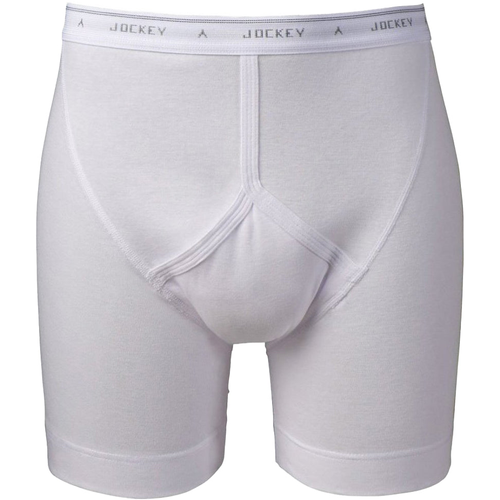 Jockey Classic Midway Brief  - White - Livingston - Castle Douglas