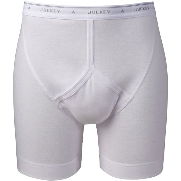 Jockey Classic Midway Brief  - White