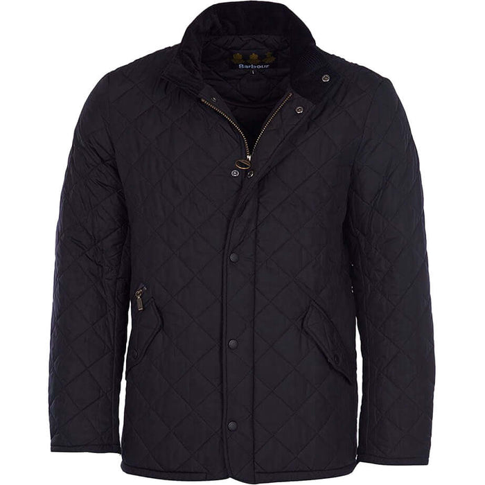 Barbour Chelsea Sports Quilt - Black - Livingston - Castle Douglas