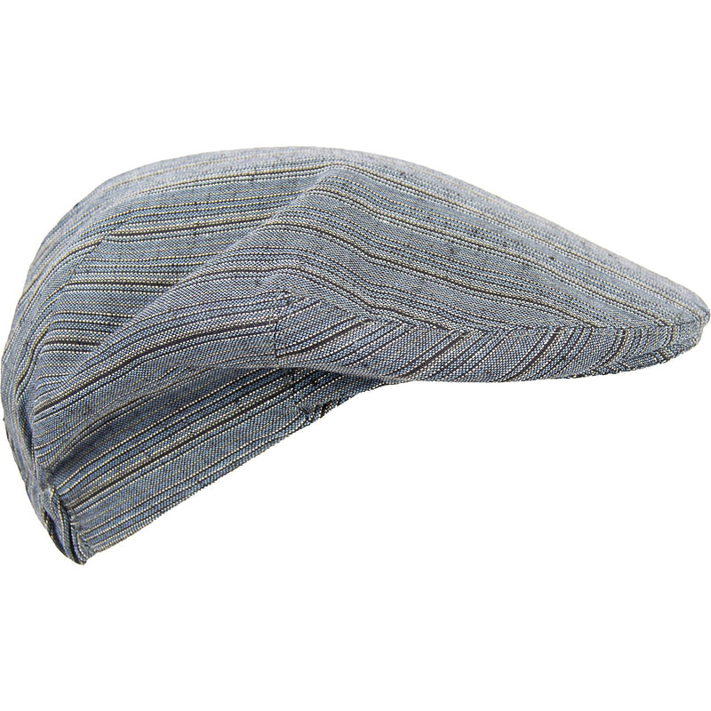 Stripe Summer Cap -Blue