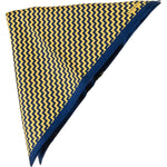 Patterned Silk Pocket Square