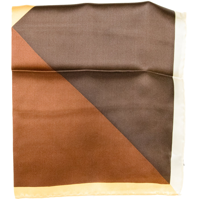 4 Coloured Silk Pocket Square