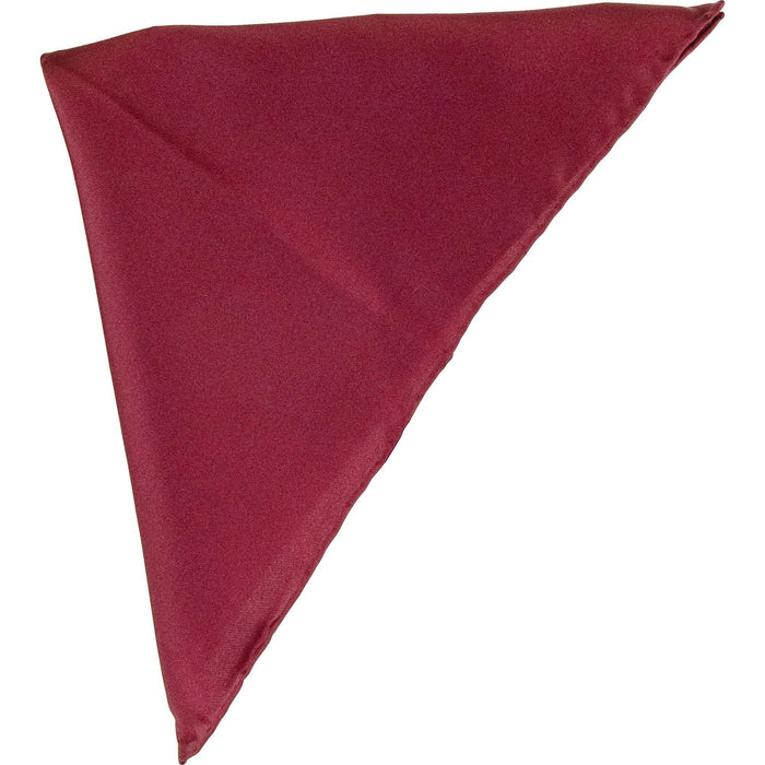 Plain Silk Pocket Square