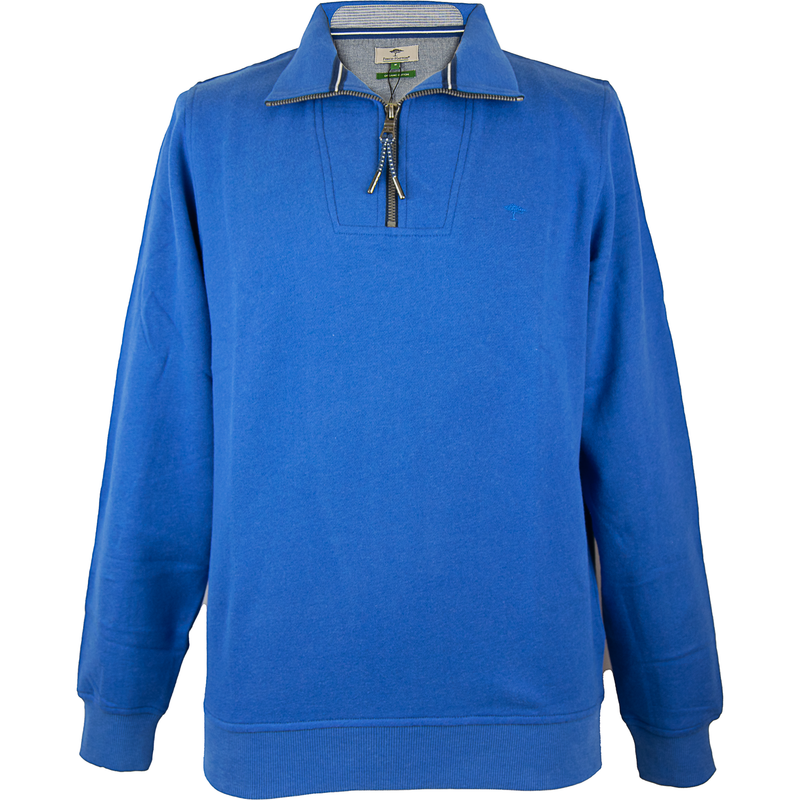 1/2 Zip Sweatshirt - Ultramarine