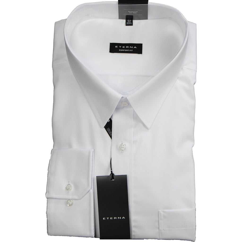 Eterna Shirt - White - Livingston - Castle Douglas