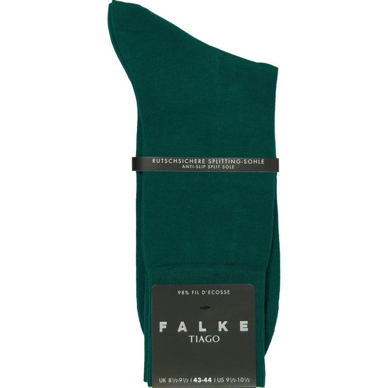 Falke Tiago Cotton Socks - Teal - Livingston - Castle Douglas
