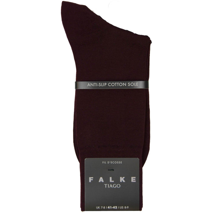 Falke Tiago Cotton Socks - Burgundy