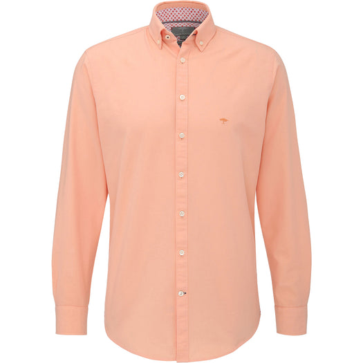 Fynch Hatton Shirt - Peach - Livingston - Castle Douglas