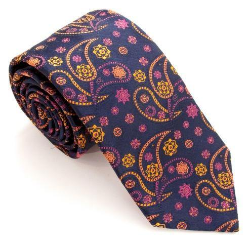 Van Buck Red Label Tie - Floral Paisley