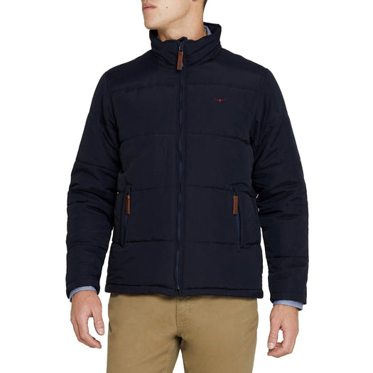 R M Williams Patterson Creek Jacket - Navy - Livingston - Castle Douglas