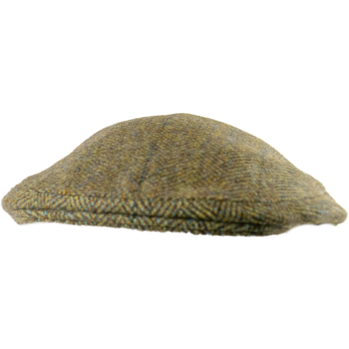 Livingston Tweed Countryman Cap - Tan Green