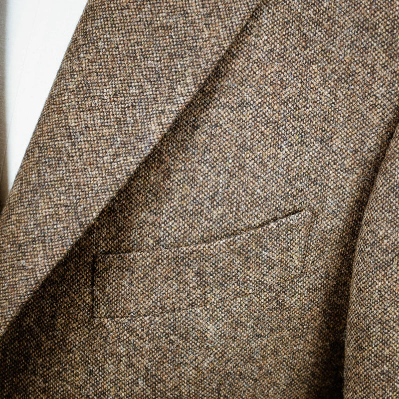 Livingston Moons' Tweed Limited Edition Jacket - Brown - Livingston - Castle Douglas