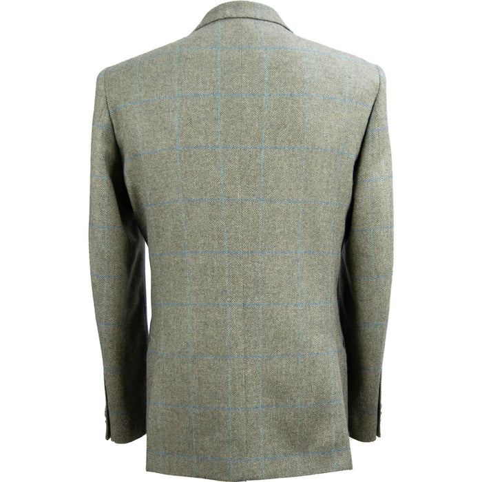 Magee Liffey Tweed Jacket - Green Overcheck