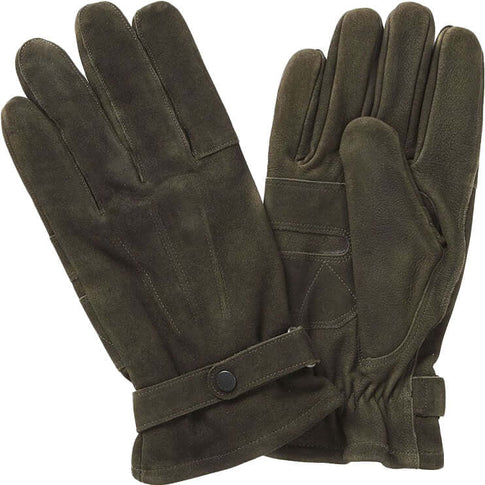Barbour Nubuck Thinsulate Gloves - Livingston - Castle Douglas