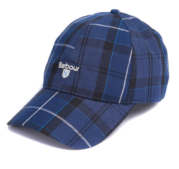 Barbour Sports Cap - Tartan Blue
