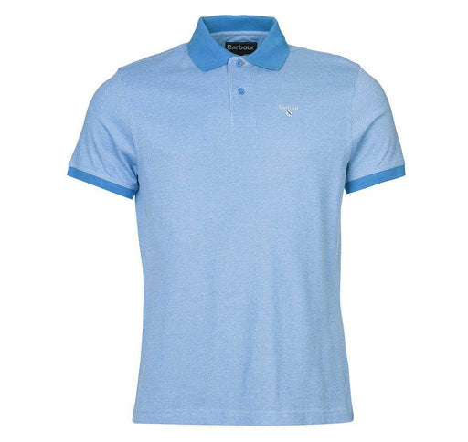 Barbour Sports Polo Mix - French Blue