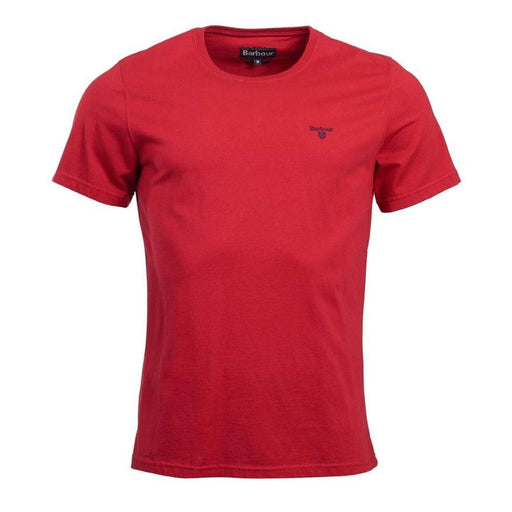 Barbour Sports T-Shirt - Rich Red - Livingston - Castle Douglas