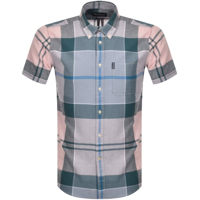 Barbour Douglas Short Sleeve Shirt - Pink