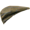 Olney Kinloch Saxony Tweed Cap -  Lovat Window - Livingston - Castle Douglas