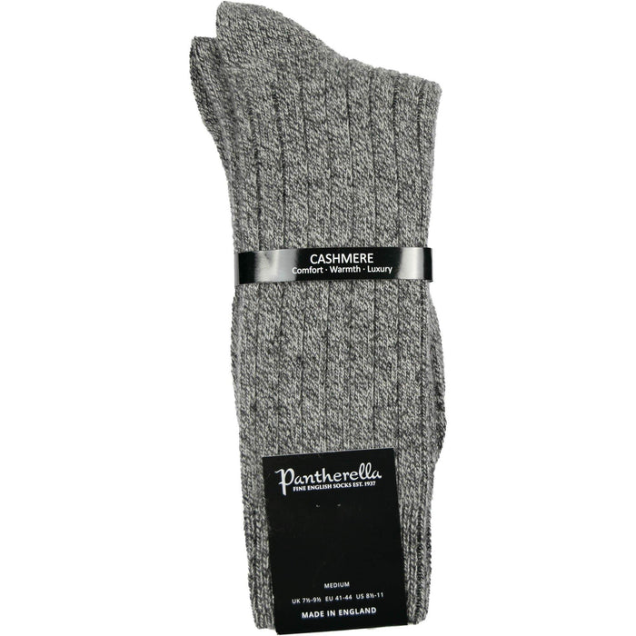 Pantherella Cashmere Socks - Charcoal Marl - Livingston - Castle Douglas