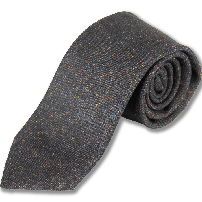 Wool and Silk Donegal Tie