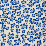 Seidensticker  Print Shirt - White/Royal