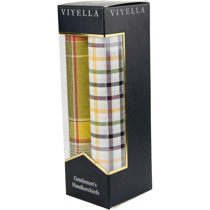 Viyella Boxed Handkerchiefs - Mixed