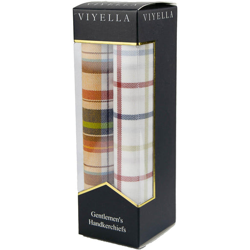 Viyella Boxed Handkerchiefs - Mixed - Livingston - Castle Douglas